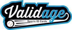 Validage Sports ID Cards for Youth Baseball